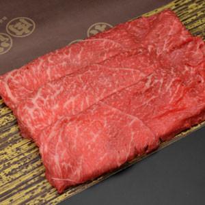 敬老の日 におすすめ。松阪牛すき焼き肉 1050円/100g