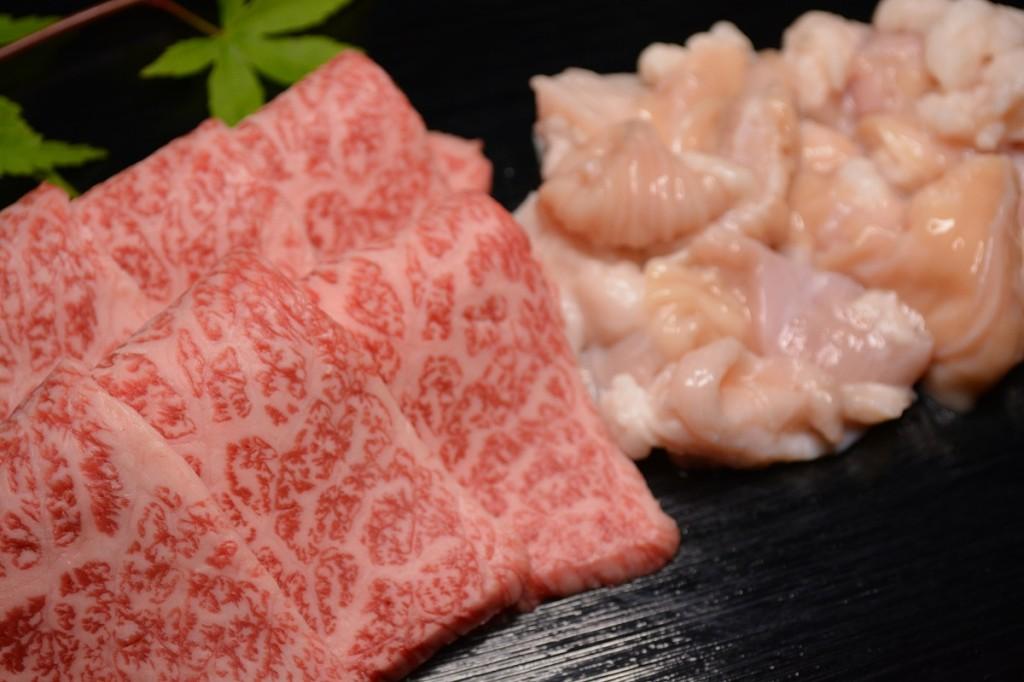 松阪牛焼き肉と松阪牛ホルモン