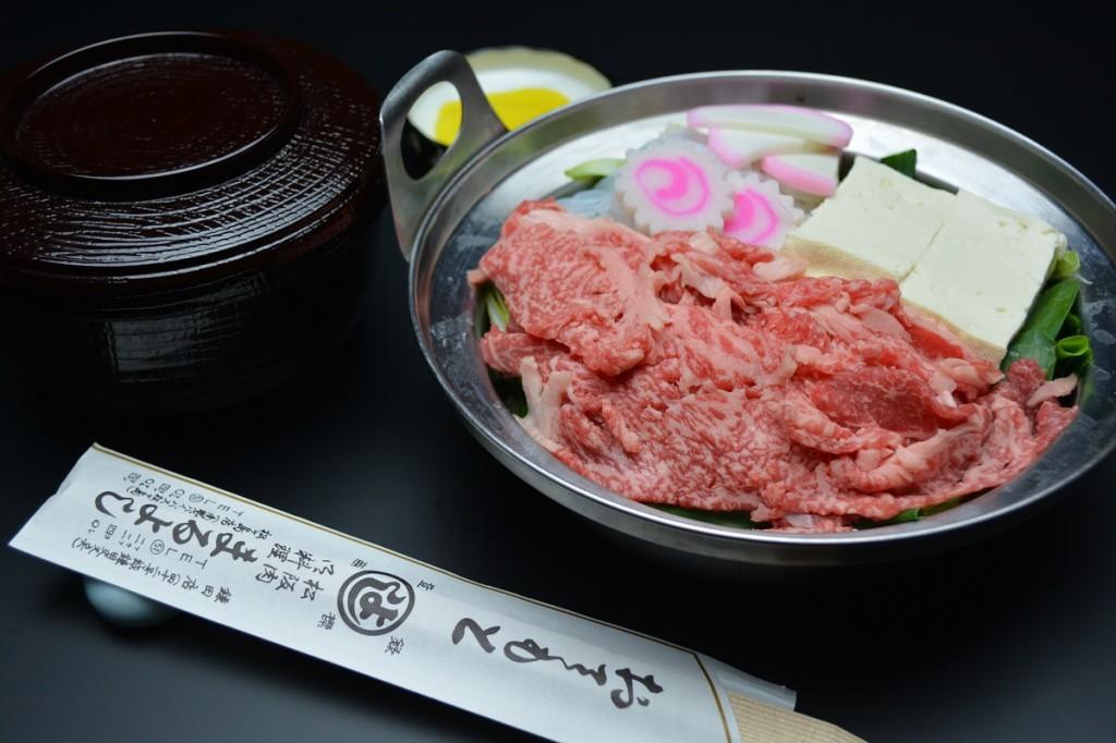 人気の肉鍋 1230円