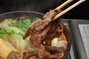 牛肉 のすき焼き