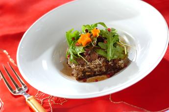 クリスマスレシピ 牛フィレのステーキ