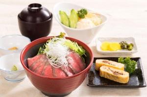 限定メニュー 松阪牛 ローストビーフ丼