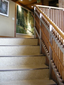 お子様 用 階段手すり