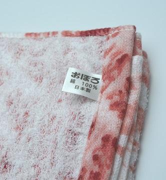 肉タオル タグ 綿100%