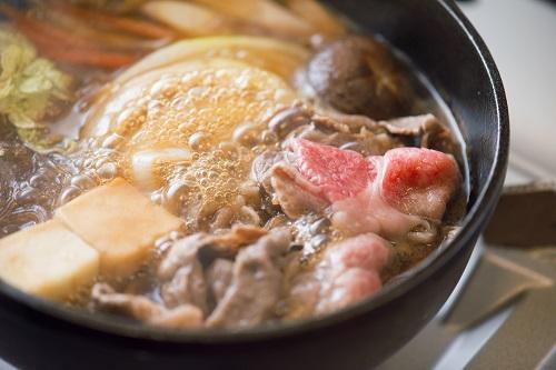 食べたい鍋ランキング 第1位のすき焼き
