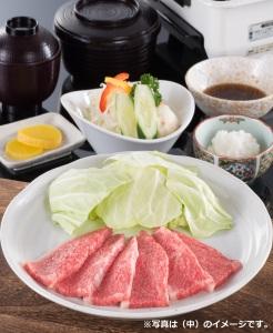 松ヶ島店限定 焼肉定食 (中)