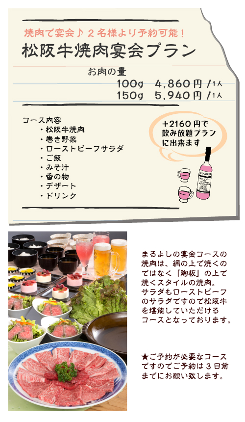宴会 焼肉2