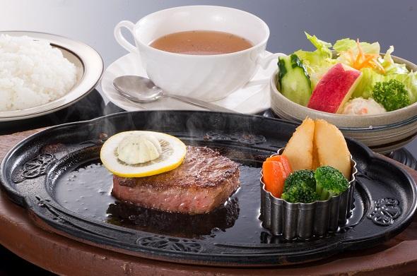 国産黒毛和牛ロースステーキ