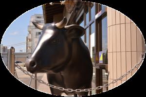 松阪牛のオブジェ