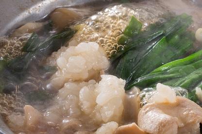 ランキング 4位はもつ鍋。当店のおすすめは「松阪牛もつ鍋」