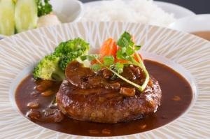 地元 のお客様に人気 松阪牛ハンバーグ