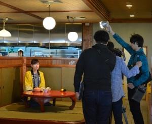 青森朝日放送 ハッピィ 撮影風景