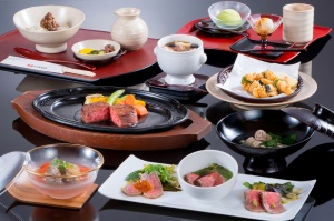 まるよしの松阪牛 会席料理