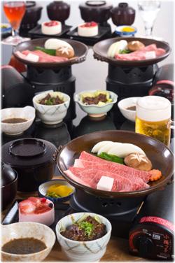 ひとり鍋コース(陶楽焼)