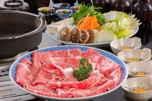 松阪牛牛トロすき焼き