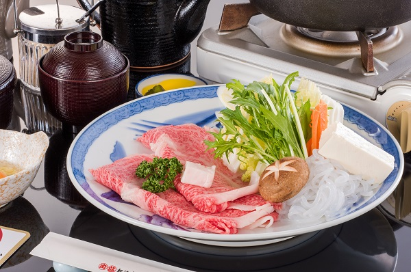松阪 牛 牛トロすき焼き