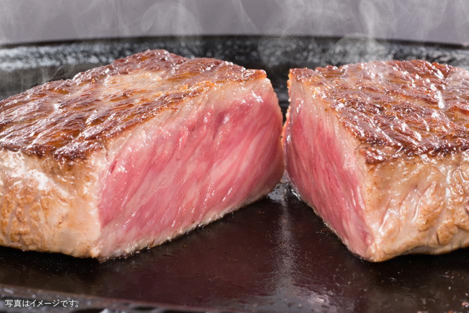 松阪 牛ロース芯だけステーキ