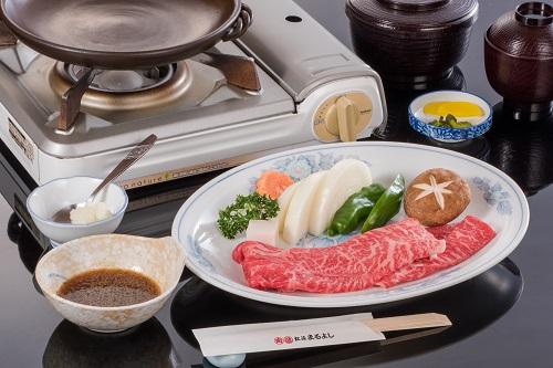 松阪牛 陶楽焼