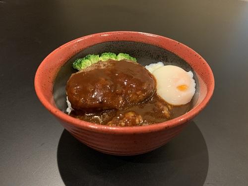 松阪牛ハンバーグ丼
