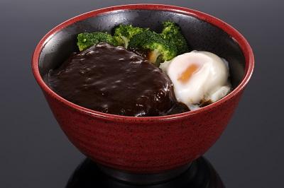 松阪牛 ハンバーグ丼