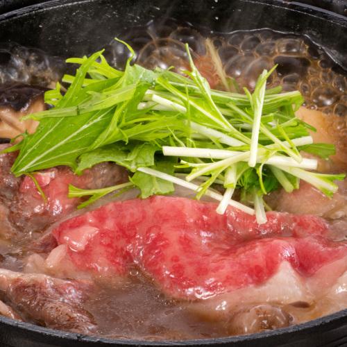 松阪牛牛鍋