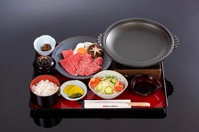 松阪牛焼肉御膳100g