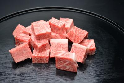 松阪牛 サイコロステーキ (サーロイン)